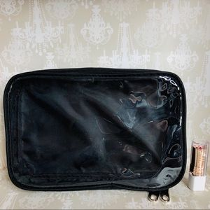 NYX Black/Clear Cosmetic Bag #3